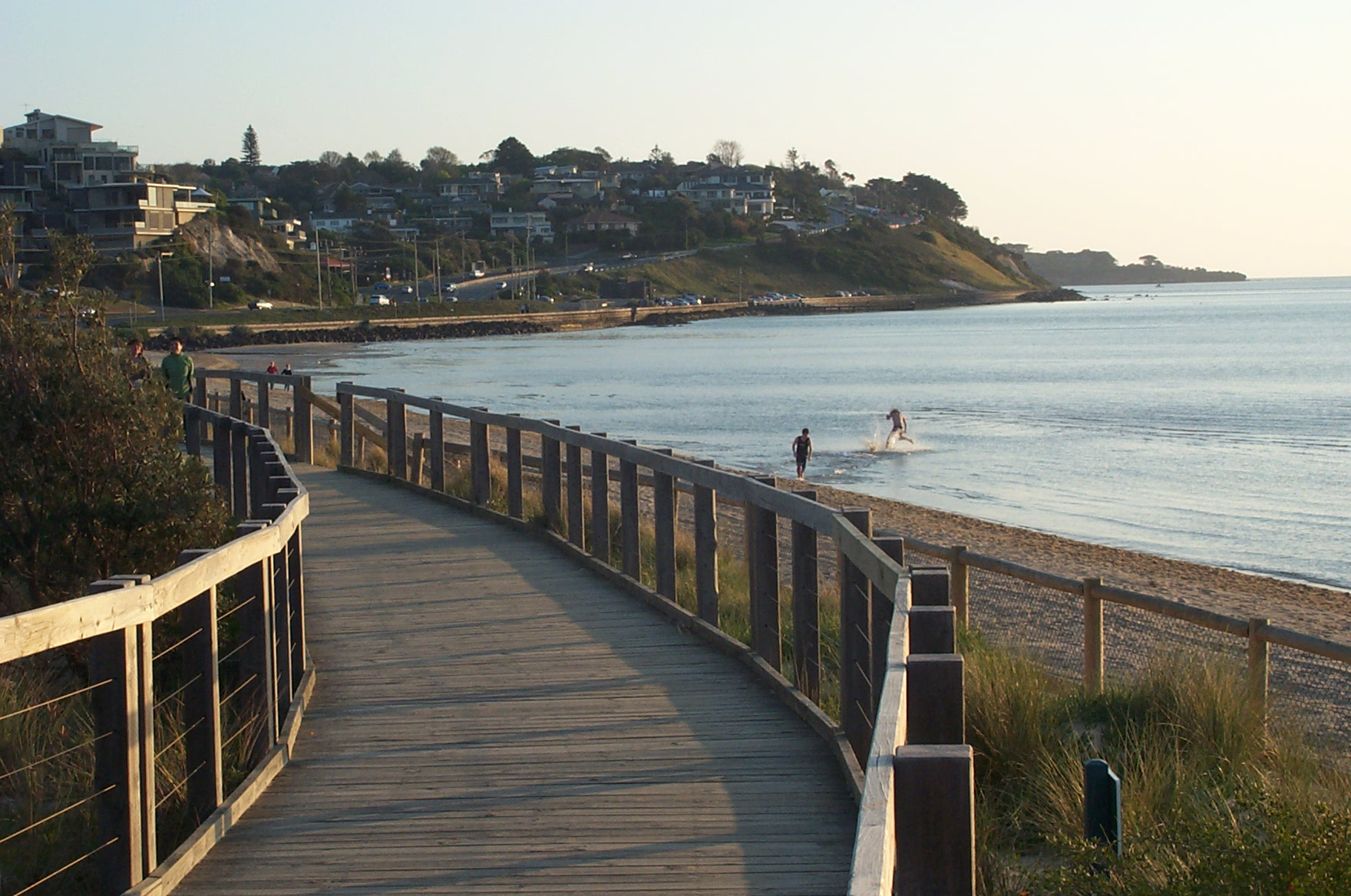 Olivers Hill Frankston Australia viewed from boardwalk